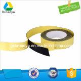 cinta echada a un lado doble baja solvente de la espuma de 3.0m m EVA (BY-ES30)