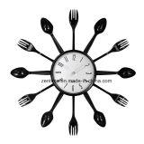 Ложка рационализаторства и развлетвляет часы стены украшения кухни 15 дюймов