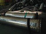 Fio de alta pressão que trança a mangueira do metal flexível