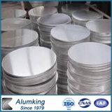 Círculos de aluminio que laminan para la cubierta o el plato