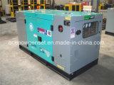 звукоизоляционный тепловозный генератор 50kw с ATS
