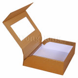 Rectángulo de regalo de papel rígido del encierro magnético para el empaquetado de la ropa