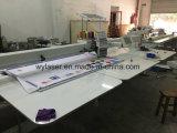 Одиночное головное промышленное плоское машинное оборудование вышивки тканья