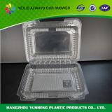 Ясный устранимый пластичный контейнер сандвича