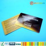 tarjeta de papel ultraligera del transporte RFID de 13.56MHz ISO14443A MIFARE C
