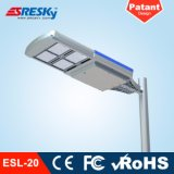 96W impermeabilizzano le lampade solari della via della strada principale LED