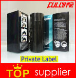 Bottiglia della fibra dei capelli della cheratina di Concealer di perdita di capelli del contrassegno privato