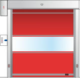 Автоматическая дверь штарки PVC High Speed