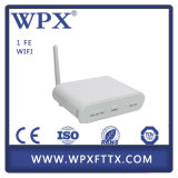 Trabalho bem com muitos única fibra ONU de Olt Fiberhome Epon Gpon Gepon com modem de WiFi