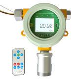 Medidor de gás fixo do nitrogênio do N2 em linha com alarme (N2)