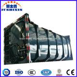 粉の輸送のための20feetタンカーの容器プラスター粉タンク容器