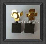Conjunto de escova de carbono pequeno e japonês pequeno para eletrodoméstico / aspirador de pó de eletricidade elétrica de carbono 6.5X7.5X13 / 14.5mm Small Order