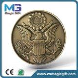 특별한 가장자리를 가진 도매 고품질 3D 기념품 동전 메달