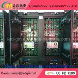 Fabricantes profesionales en pantalla grande impermeables de P10mm, de alta definición al aire libre