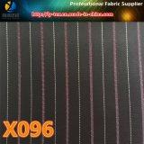 2017 nuevo diseño, raya teñida hilado de la tela cruzada, ningún MOQ (X095-97)