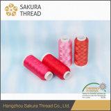 Нить полиэфира Oeko-Tex Grade1 Sakura 150d/2 для лидирующей вышивки