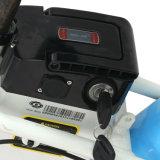 De vouwbare 350W e-Fiets En15194 Vette Band die van de Motor van de Batterij van het Lithium van de Fiets van de Rem van de Schijf Elektrische Brushless Elektrische Fiets vouwt