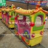 Поезд парка атракционов, электрические езды поезда малышей (BJ-AT65)