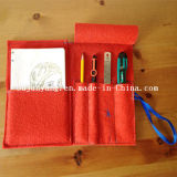 Felt Pencil Bags with Zipper for Children