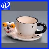 2016 новая милая животная кружка кофеего конструкции 3D