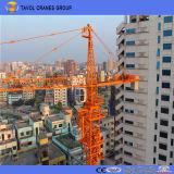 Guindaste de torre da maquinaria de Consturction com carga máxima 10ton e crescimento 60m