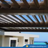Pergola ajustável do telhado da grelha de Shutte do alumínio