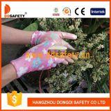 Ddsafety 2017 13 Shell van de Polyester van de Maat Nylon Handschoenen van het Werk van de Tuin van de Deklaag van het Nitril