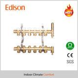 スマートな分布の床下から来る暖房多岐管の黄銅