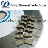 Segmento da estaca da laje do granito do cortador de diamante para a máquina de estaca de pedra