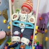 2017 игрушек скольжения крытой спортивной площадки медведя пластичных для малышей (HBS17009A)