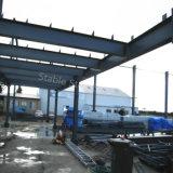 Hangar pré-fabricado da exploração agrícola da construção de aço com grande espaço