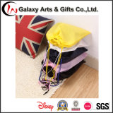 Sacoche de chaussure Logo imprimé Drawstring Non Woven Shoe Travel Bag