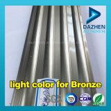 Perfil de alumínio de alumínio da extrusão com cor personalizada revestimento anodizada do pó