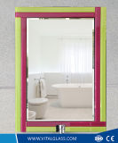 De opgepoetste Spiegel van de Decoratie/Gekleurde Zilveren Spiegel