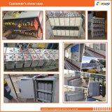Telecomunicaciones terminales de acceso frontal de la fuente 12V55ah de China y batería delgada solar de la UPS del AGM