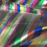 Tissu en tissu organza en tissu pour vêtements nuptiales