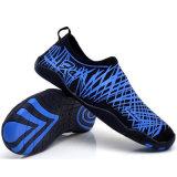 Zapatos descalzos de la piel para la yoga de la playa de la nadada de la resaca de la zambullida de la corrida