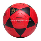 Рекламировать красной футбол PVC прокатанный тренировкой