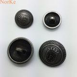 Bouton de couture de champignon de couche en métal de bouton de partie lisse d'alliage