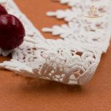 Шнурок маркизета высокого материального тканья вышивки швейцарский