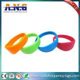 Wristbands impermeáveis do silicone RFID de NFC para a praia