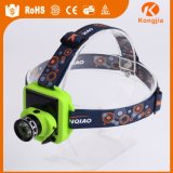 Rechargeable Outdoor Headlight Extreme Torch Solar Bright Power Aluminum LED Lamplight Headlamp