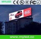 Indicador de diodo emissor de luz do anúncio ao ar livre de HD para a instalação fixa ao ar livre