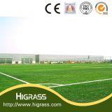 Erba artificiale di sport di calcio del campo da giuoco Anti-UV del campo con il prezzo poco costoso