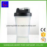 Garrafa de água do abanador da função com esfera de metal (400ML)