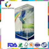 Suministro profesional de PVC transparente caja de regalo de juguetes de peluche de embalaje