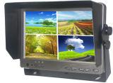 moniteur de vue arrière d'écran LCD du véhicule DEL de la quarte 7inch