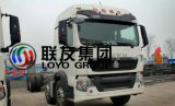 インドネシアのSinotruk HOWO T5g 8X4のトラクターのトラックの熱い販売