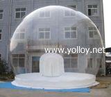 パフォーマンス地球を広告する携帯用明確で膨脹可能なクリスマスHalloween