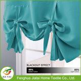 Cortinas originais da cozinha do disconto pequeno azul das cortinas de indicador